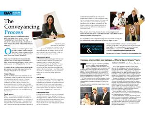 Graham Evans & Partners magazine spread