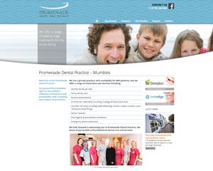 Promenade homepage