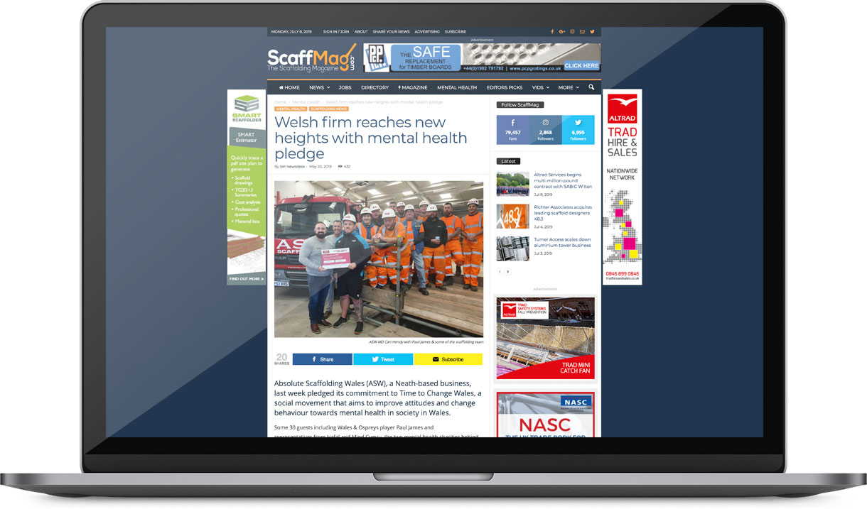 ScaffMag ASW Press Coverage
